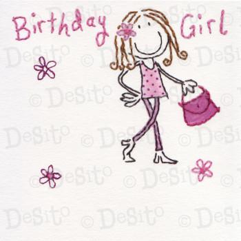 SC01 birthday girl bag