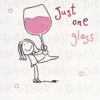 SC09 just one glass