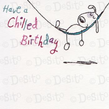 SC14 chilled birthday dog