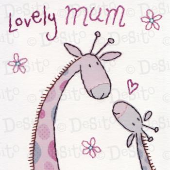 SCR11 lovely mum giraffes