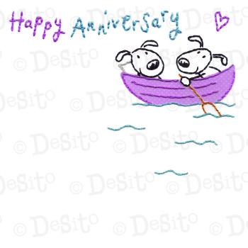 SCR18 boat anniversary
