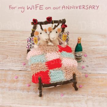 W08 Wife anniversary champagne