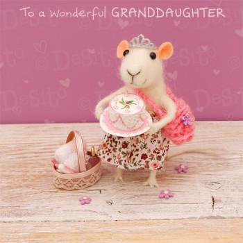 W10 granddaughter cake