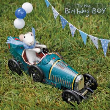 W36 birthday boy car